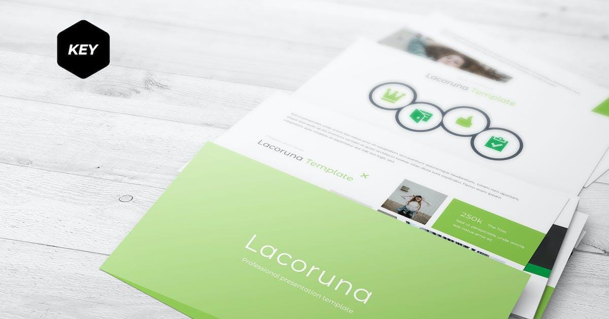 Download Lacoruna - Keynote Template by aqrstudio