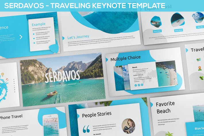 Thumbnail for Serdavos - Traveling Keynote Template