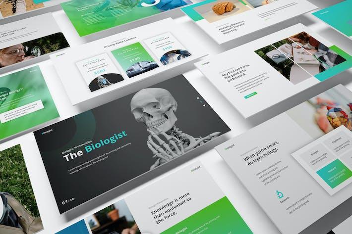 The Biologist Google Slides Presentation Template