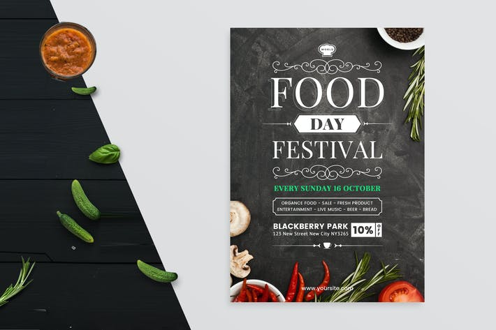 Thumbnail for World Food Day Flyer