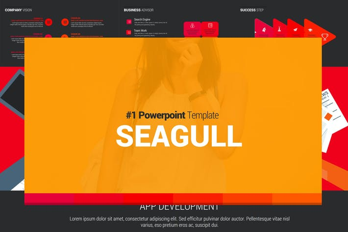 Thumbnail for SEAGULL Powerpoint Template