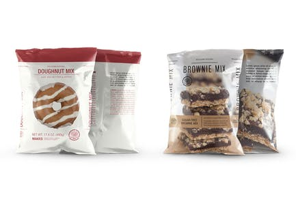 Snack Bag Pouch Mockup