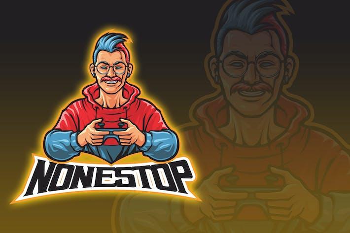 Thumbnail for Geek Gamer Esport Logo