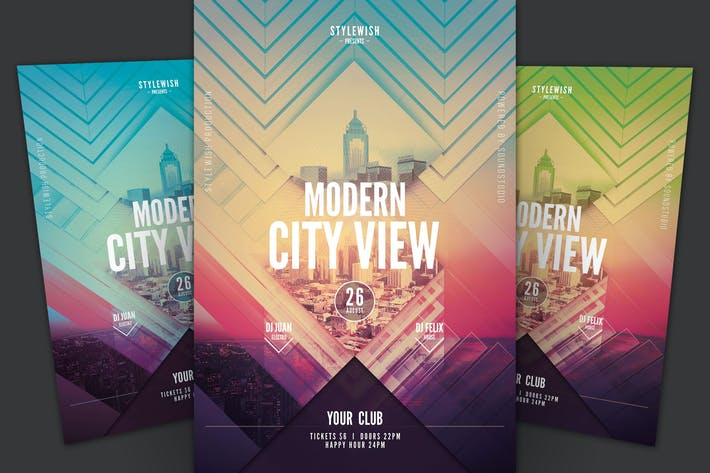 Thumbnail for Modern City View Flyer