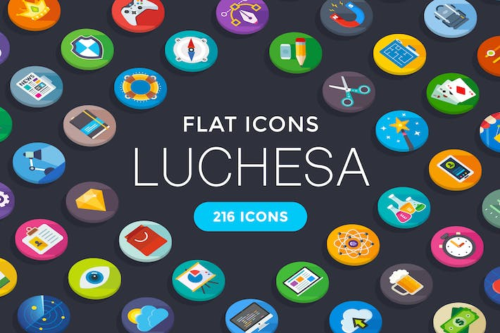 Thumbnail for Luchesa Flat Icons