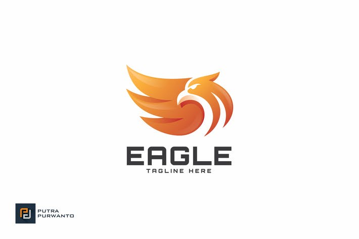 Thumbnail for Eagle Wing - Logo Template