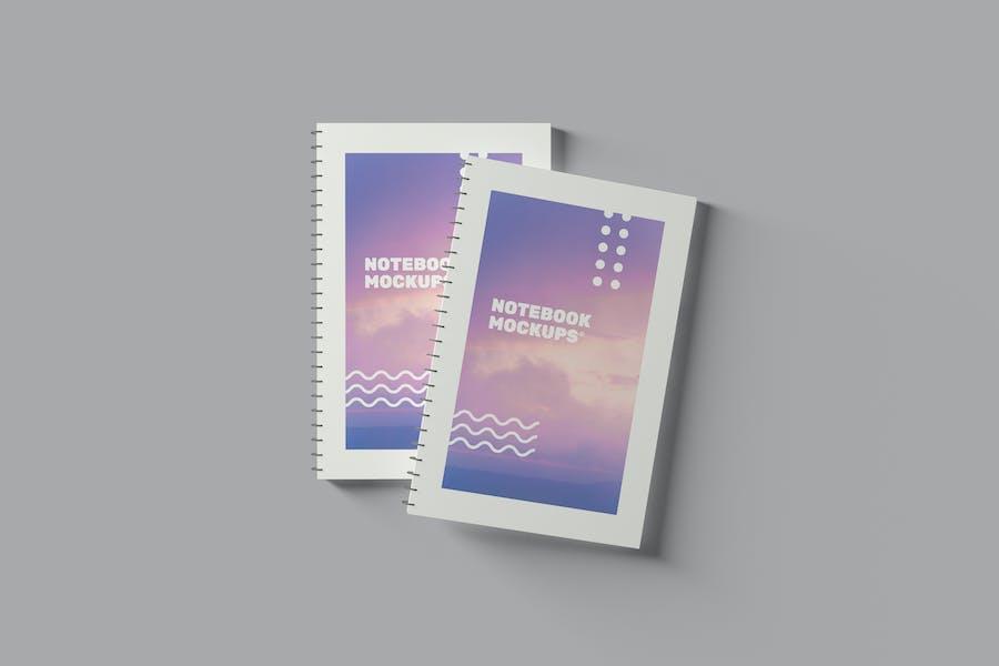 Notebook Mockups