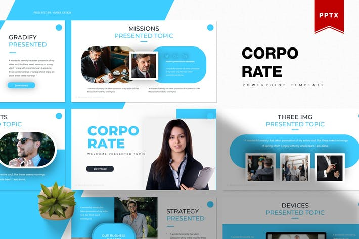 Thumbnail for Corporate | Powerpoint Template
