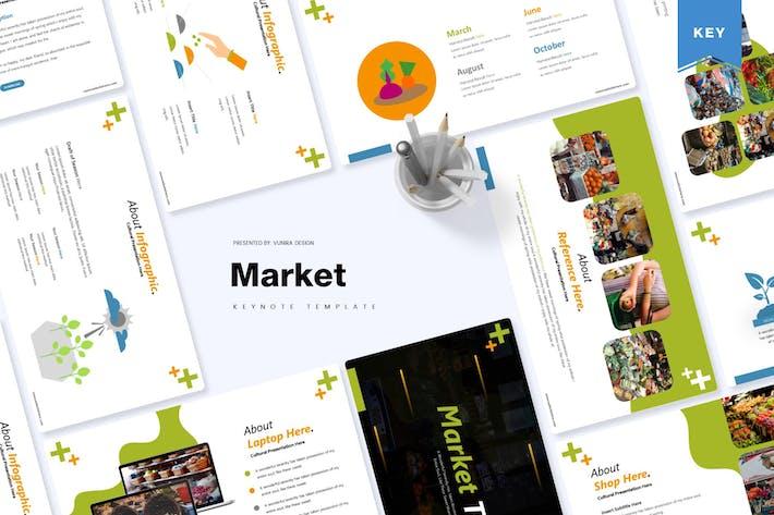 Thumbnail for Market | Keynote Template