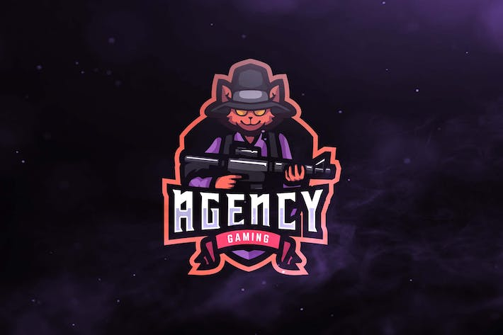 Thumbnail for Agency Gaming Sport and Esports Logos