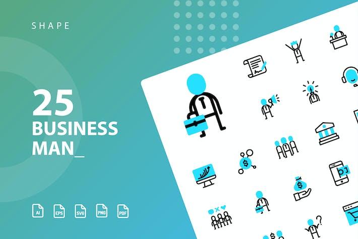 Thumbnail for Forma de hombre de negocios