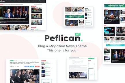 Peflican - A Newspaper & Magazine WordPress Theme