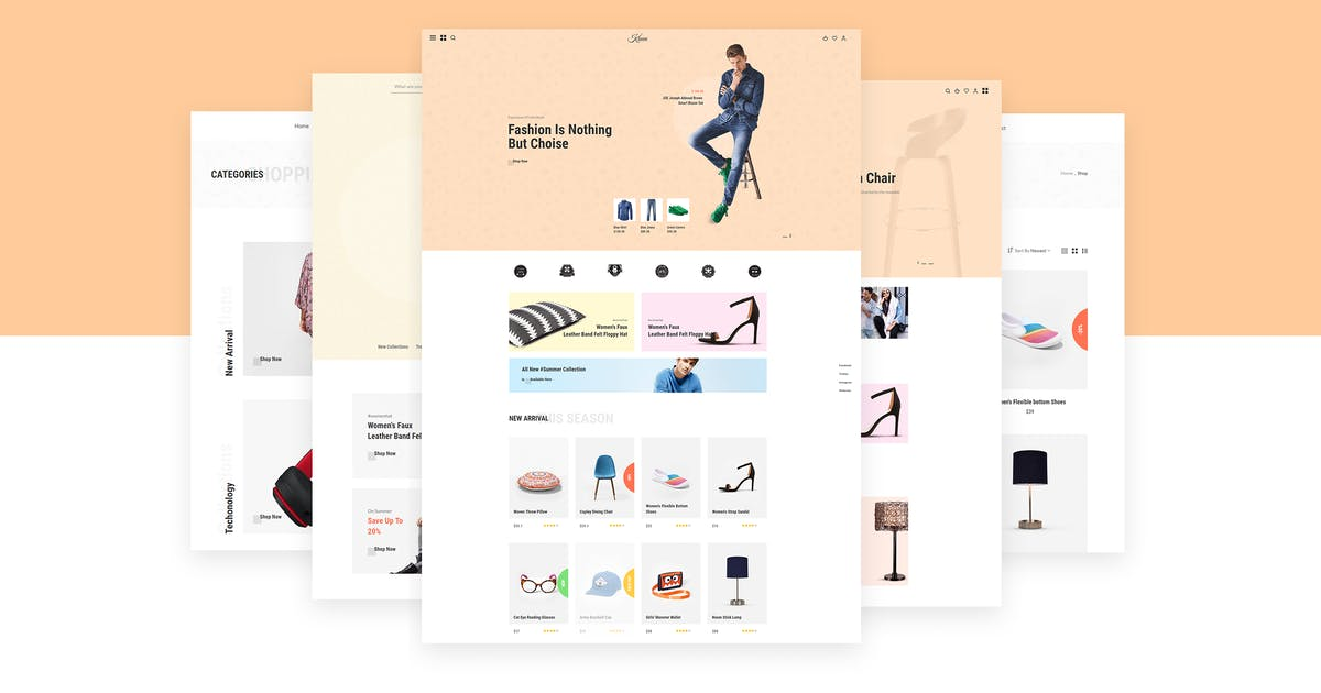 Download Kinen   Multipurpose Ecommerce HTML5 Template by themelooks