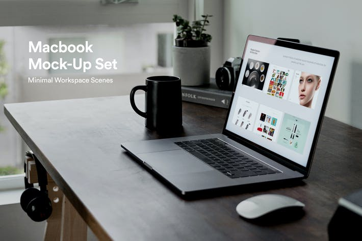 Thumbnail for Minimal Laptop Mockups
