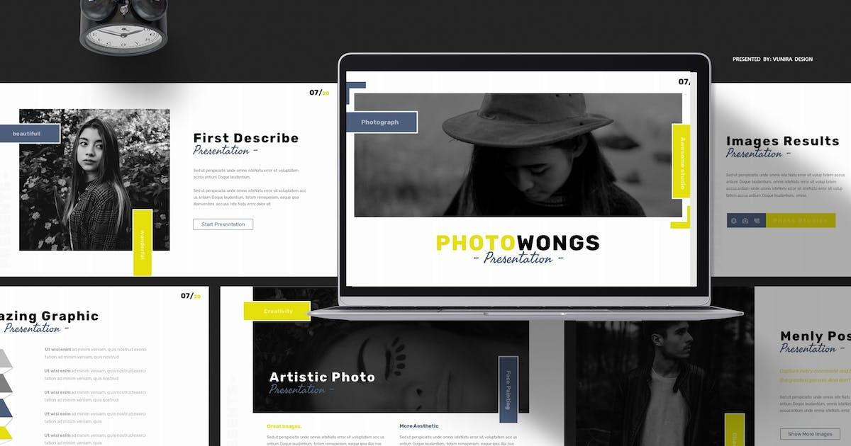 Download Photowongs   Powerpoint, Keynote, Googleslides by Vunira
