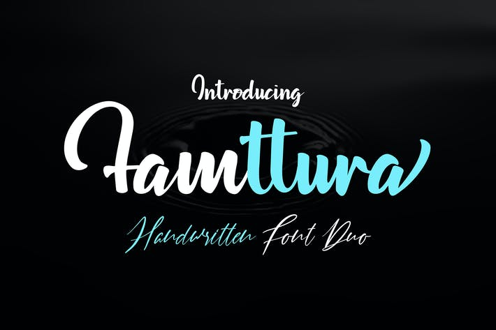Thumbnail for Famttura Font Duo