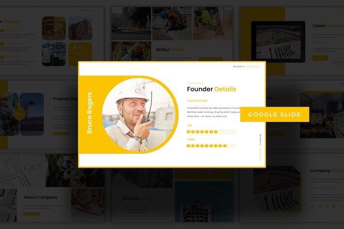 Thumbnail for Constructivism - Google Slide Template