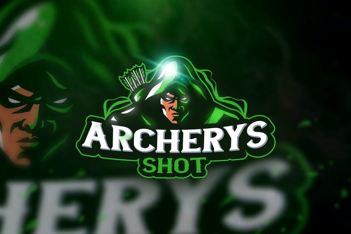 Thumbnail for Archerys Shot - Mascot & Esport Logo