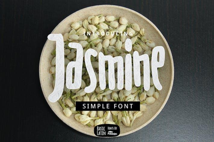 Thumbnail for Jasmine Font
