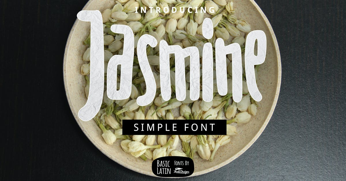 Download Jasmine Font by yandidesigns