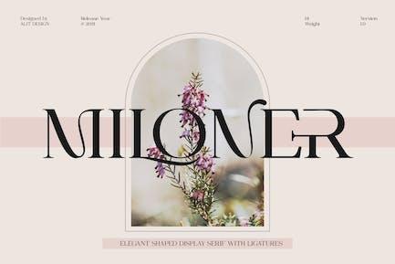 Miloner Typeface
