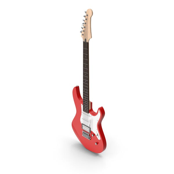 Thumbnail for Electric Guitar Red