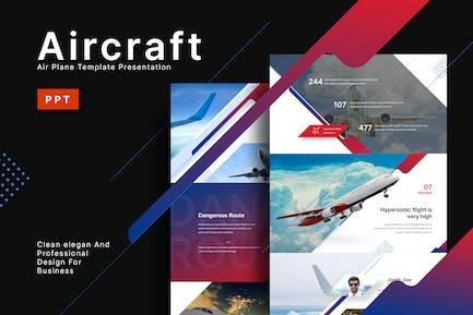 Aircraft - Aviation Powerpoint Template