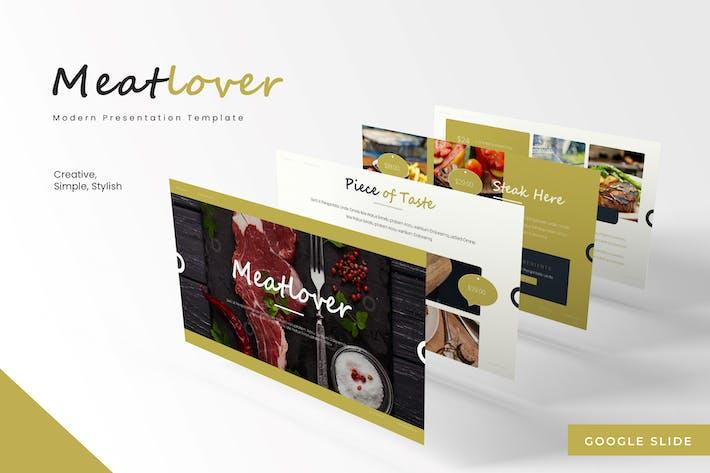 Meatlovers - Google Slides Template