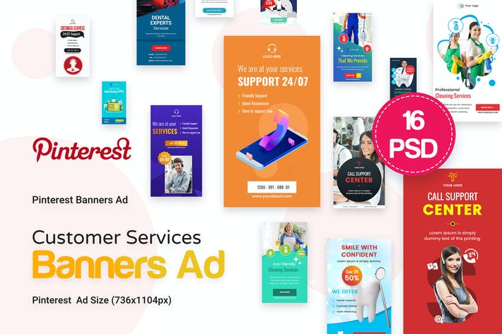 Thumbnail for Pinterest Customer Services Ad