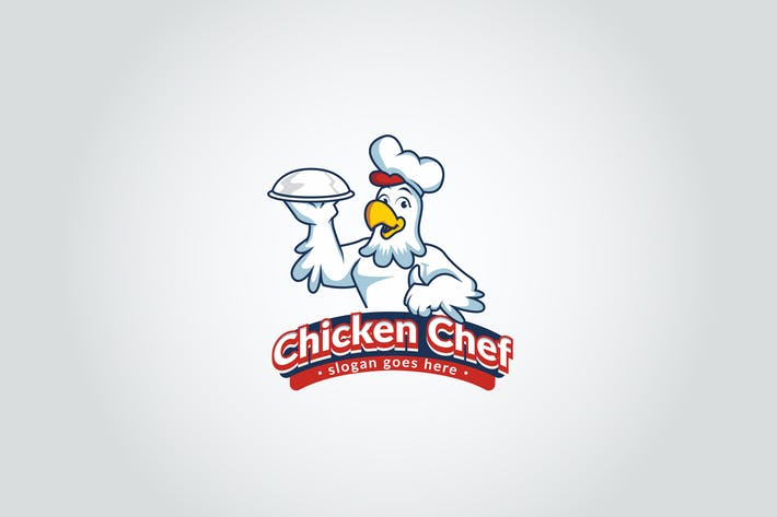 Thumbnail for Chicken Chef Logo Template