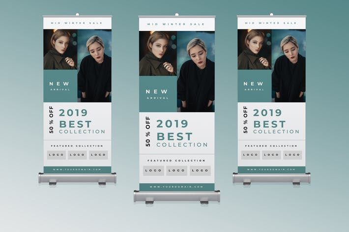 Thumbnail for Fashion Roll up Banner Promotion