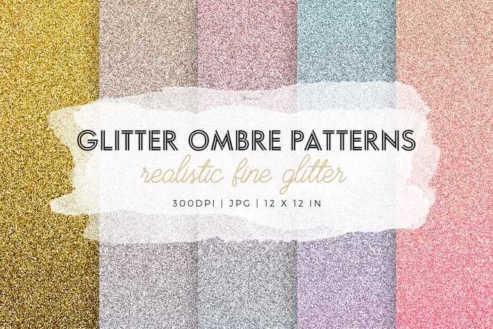 Thumbnail for Glitter Ombre Patterns