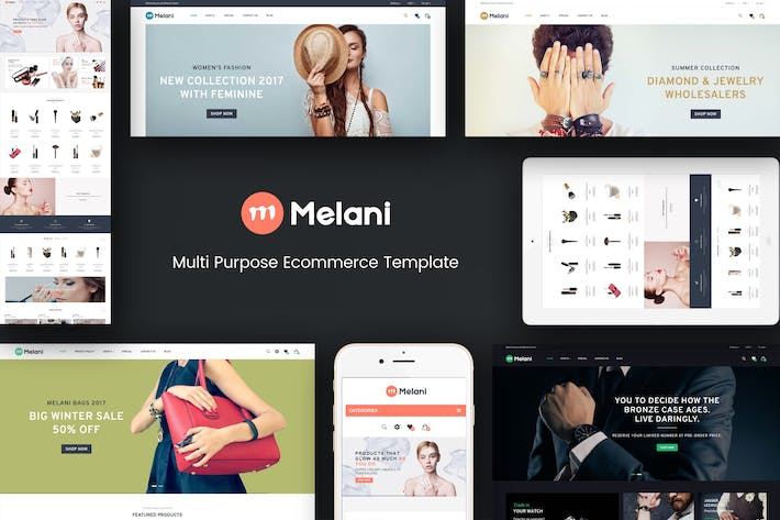 Thumbnail for Melani - Responsive Prestashop Theme