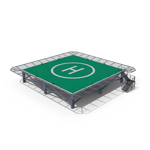 Cover Image for Square Helipad