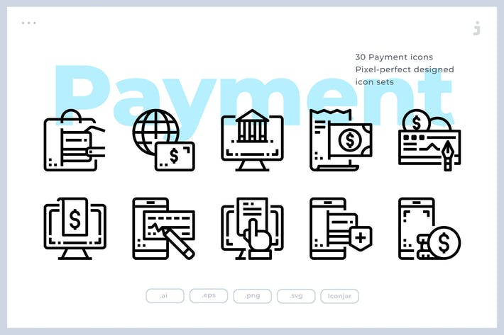 Thumbnail for 30 Payment Icons