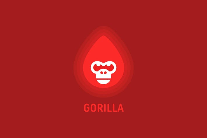 Thumbnail for Fire Gorilla Head
