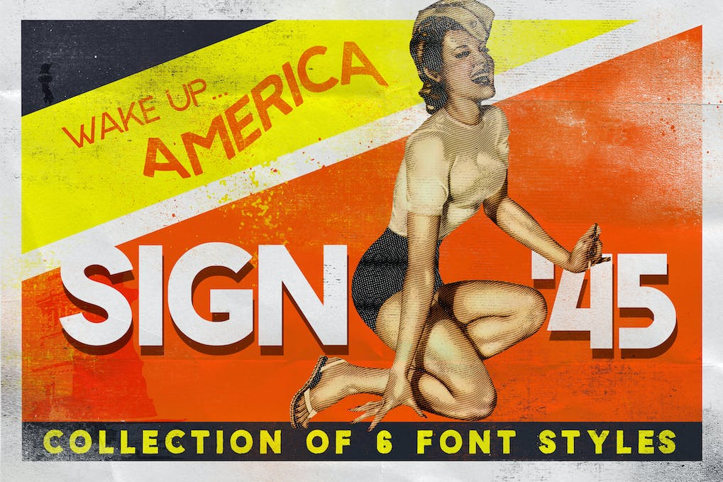 Sign-45-Typeface