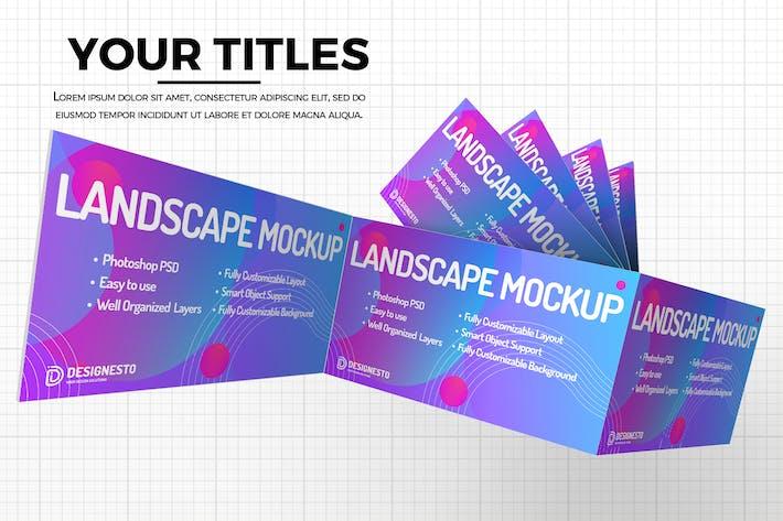 Webseite — Modernes Mockup Vorlage