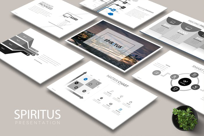Cover Image For SPIRITUS Powerpoint