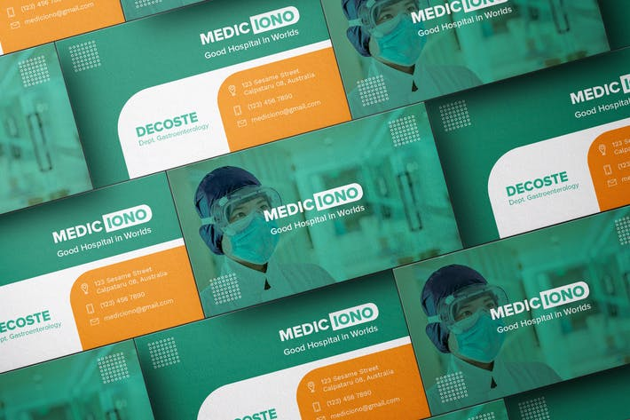 Thumbnail for Medical Clinic Business Card