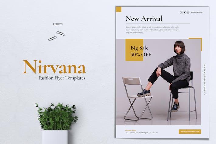 Thumbnail for NIRVANA Fashion Store Flyer