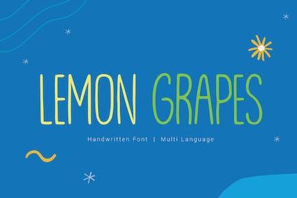 Uvas de Limón