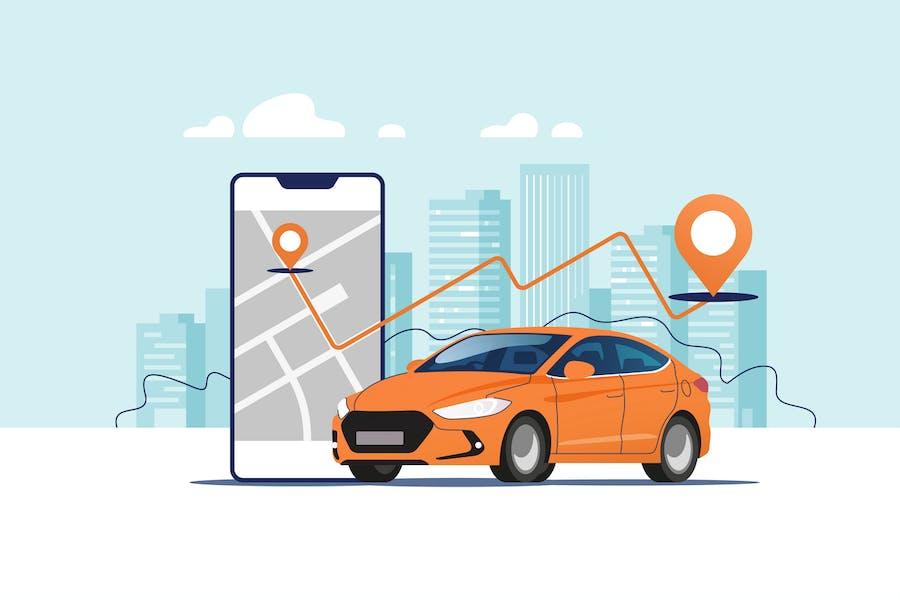 City Car Navigation