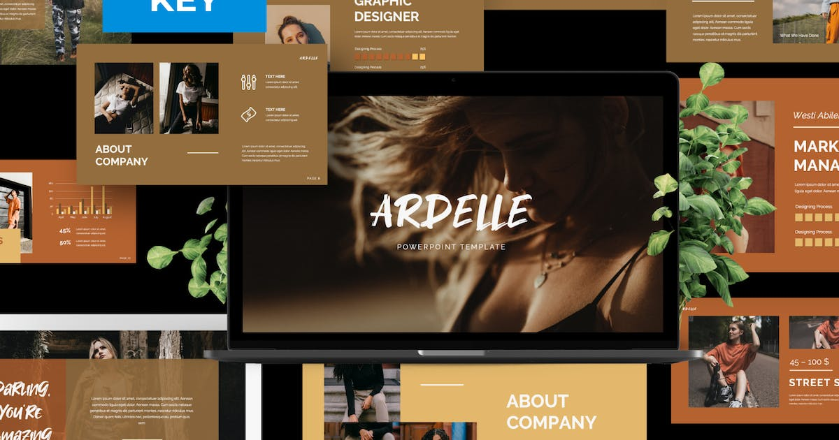 Download Ardelle Brand Business Keynote by templatehere