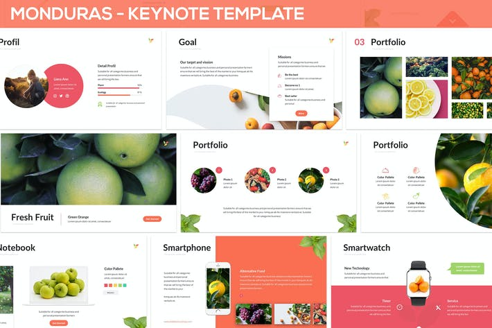Thumbnail for Monduras - Nature Keynote Template