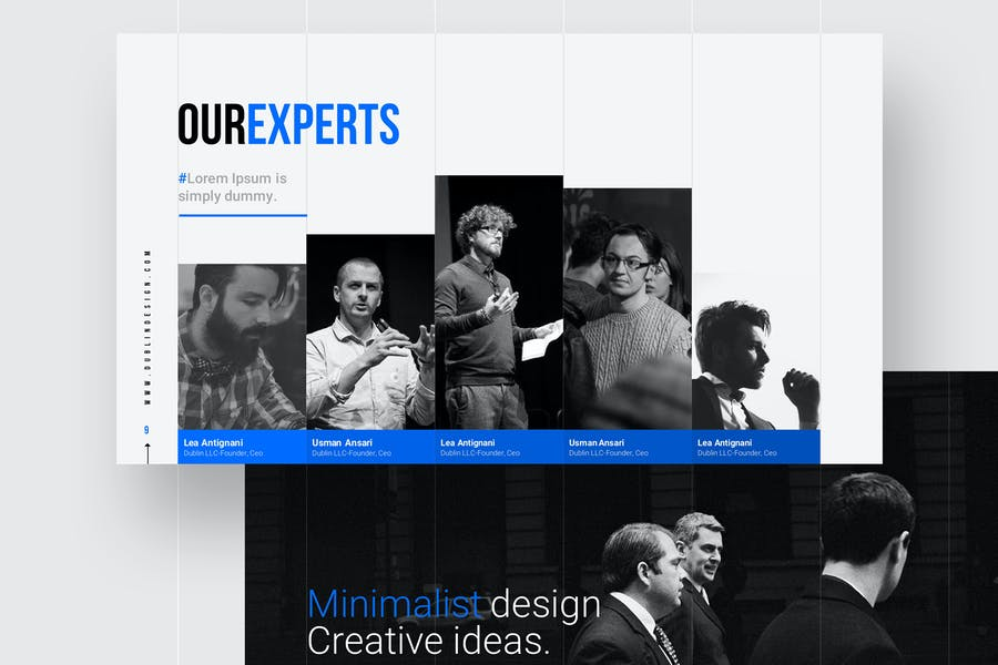 GRIDS - Powerpoint Template