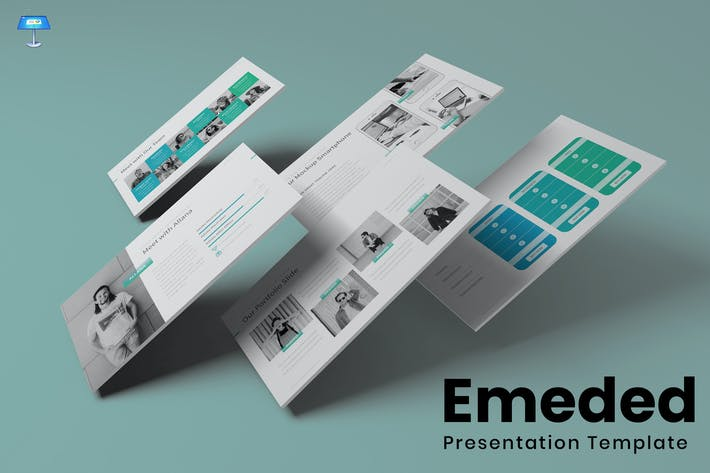 Thumbnail for Emeded - Keynote Template