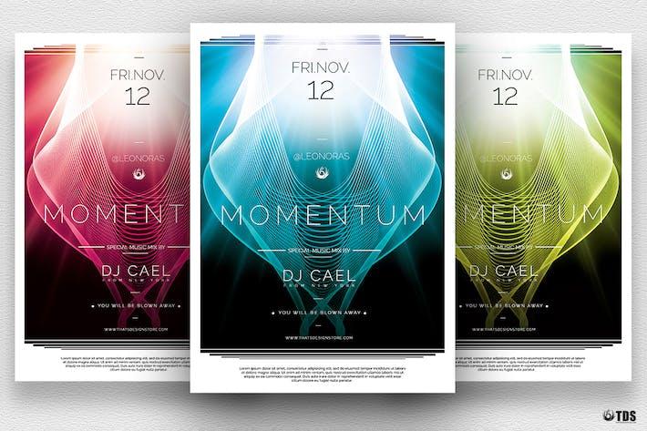 Thumbnail for Momentum Flyer Template