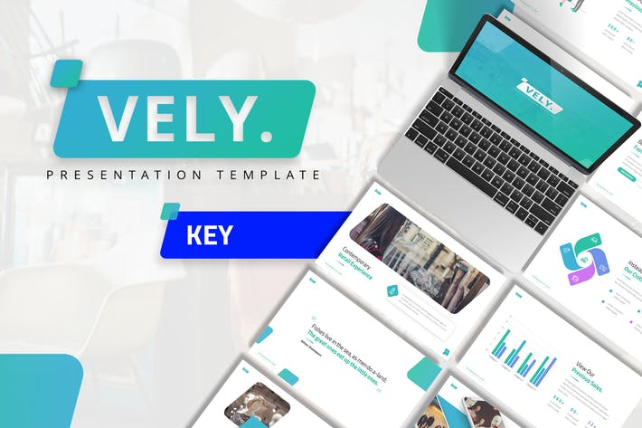 Thumbnail for Vely - Creative Keynote Template