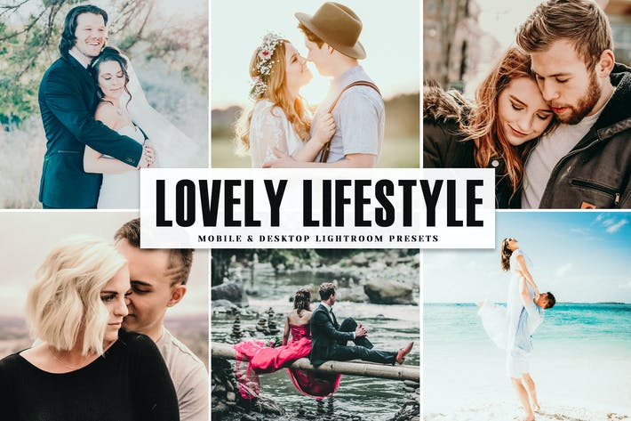 Thumbnail for Lovely Lifestyle Mobile & Desktop Lightroom Preset